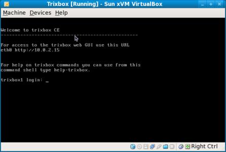 TrixBox login